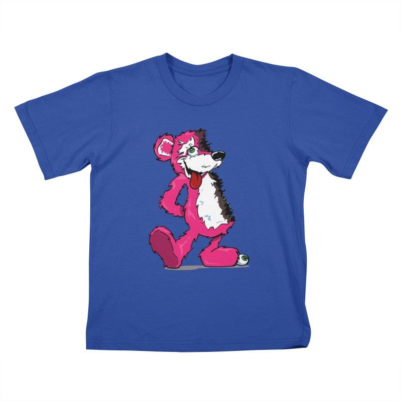 Breaking Bear Kids T-Shirt by Mike Hampton's T-Shirt Shop