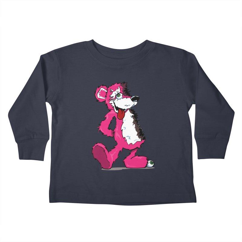 Breaking Bear Kids Toddler Longsleeve T-Shirt by Mike Hampton's T-Shirt Shop