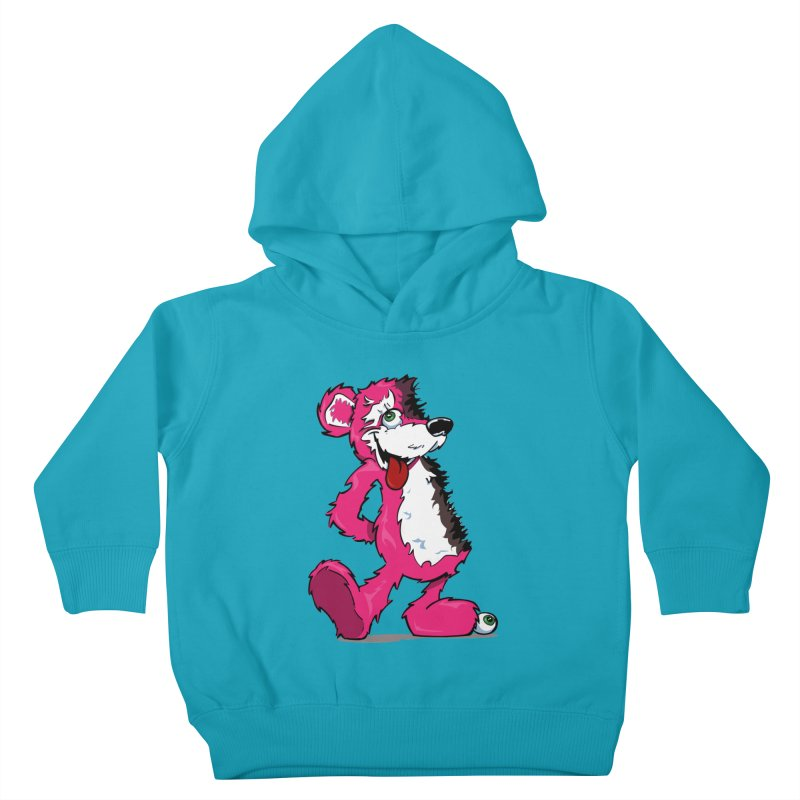 Breaking Bear Kids Toddler Pullover Hoody by Mike Hampton's T-Shirt Shop