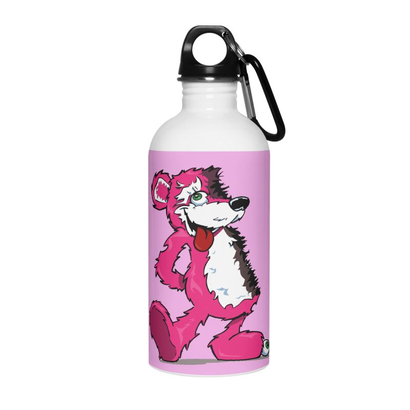 Breaking Bear Accessories Water Bottle by Mike Hampton's T-Shirt Shop