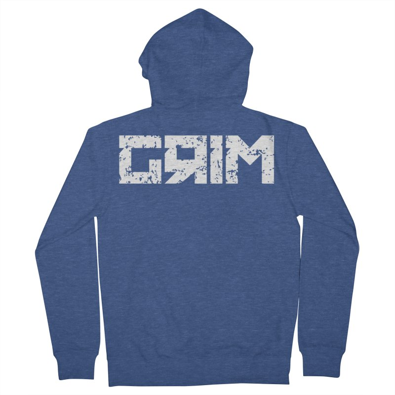 GRIM Women's Zip-Up Hoody by Mike Hampton's T-Shirt Shop