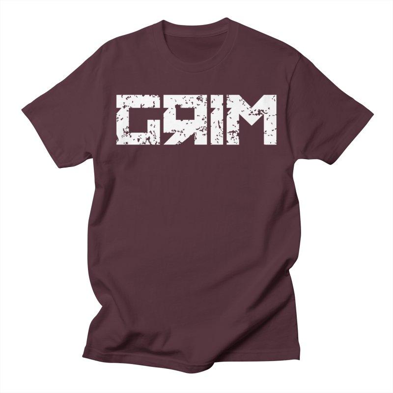 GRIM Men's T-Shirt by The Phantom's T-Shirt Shop