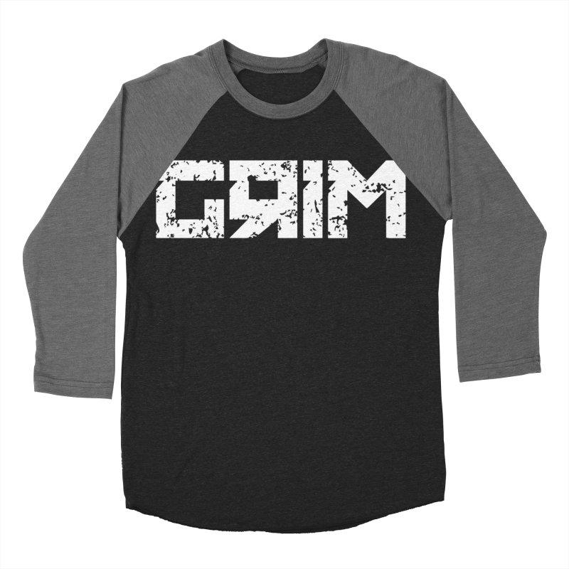 GRIM Women's Baseball Triblend T-Shirt by Mike Hampton's T-Shirt Shop