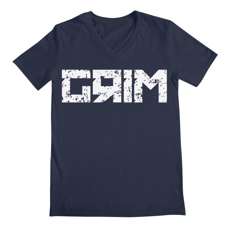 GRIM Men's V-Neck by Mike Hampton's T-Shirt Shop