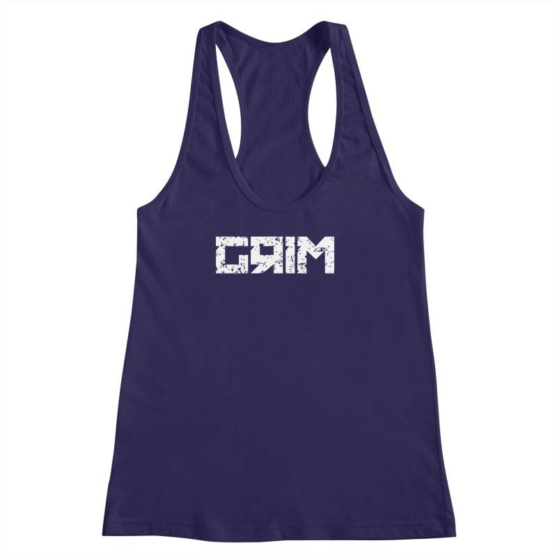 GRIM Women's Racerback Tank by The Phantom's T-Shirt Shop