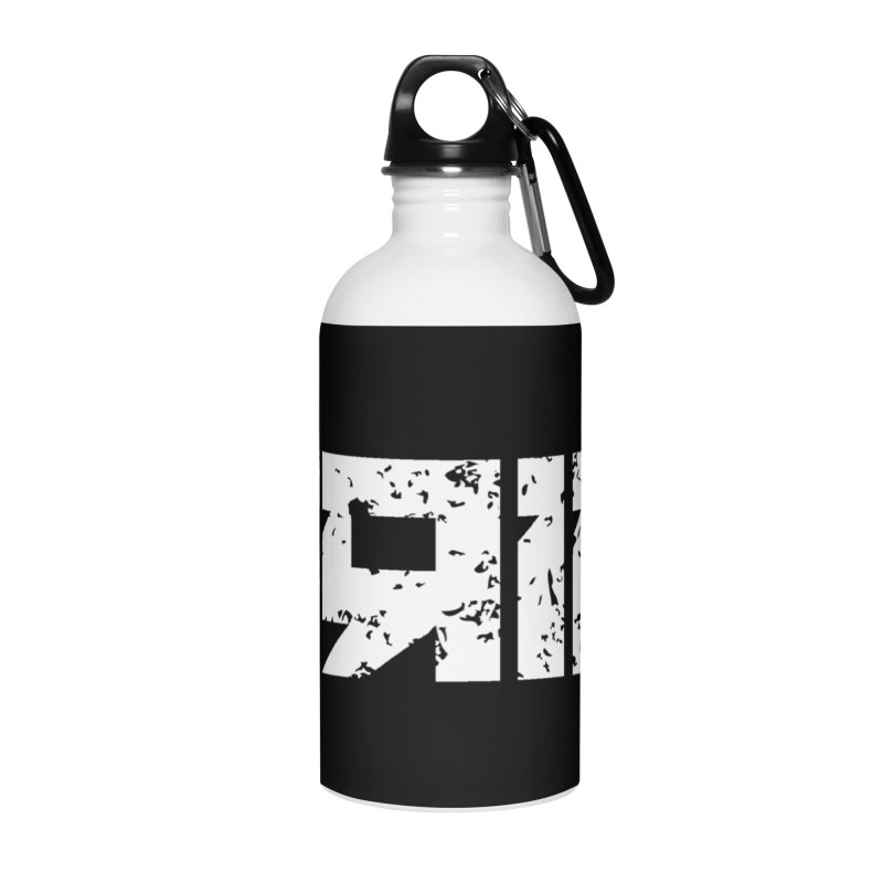 GRIM Accessories Water Bottle by Mike Hampton's T-Shirt Shop