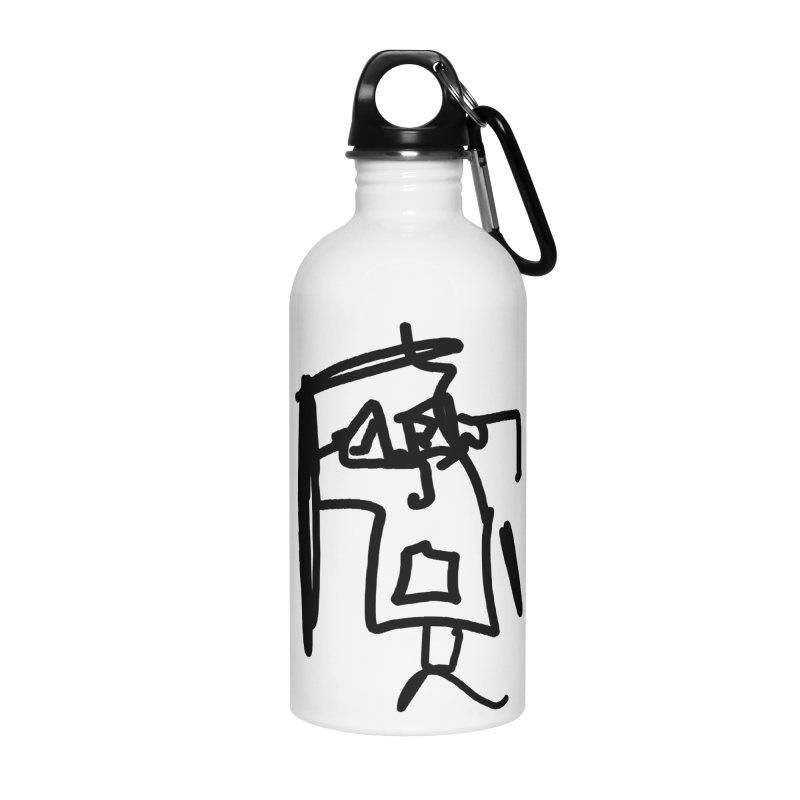 Monica Accessories Water Bottle by Mike Hampton's T-Shirt Shop
