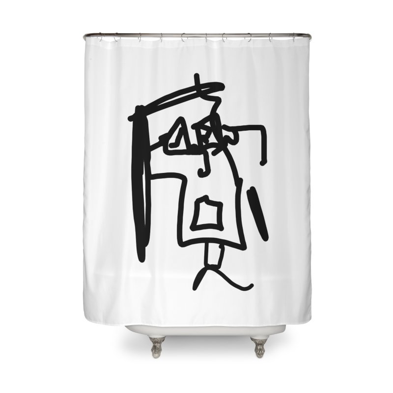 Monica Home Shower Curtain by Mike Hampton's T-Shirt Shop