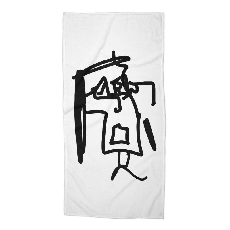 Monica Accessories Beach Towel by Mike Hampton's T-Shirt Shop