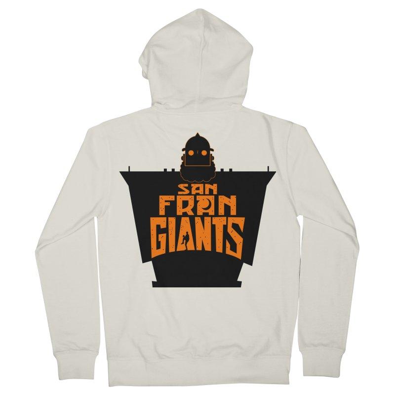 San Fran Iron Giants Women's Zip-Up Hoody by Mike Hampton's T-Shirt Shop
