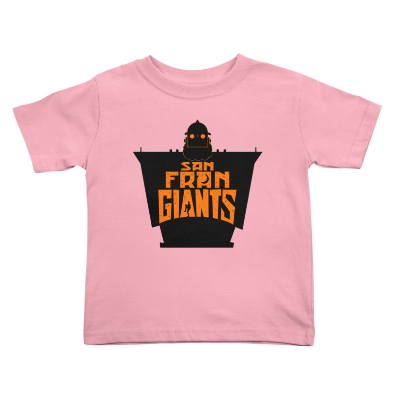 San Fran Iron Giants Kids Toddler T-Shirt by Mike Hampton's T-Shirt Shop