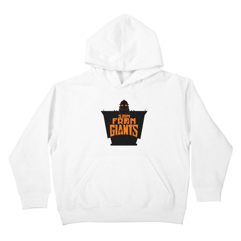 San Fran Iron Giants Kids Pullover Hoody by Mike Hampton's T-Shirt Shop