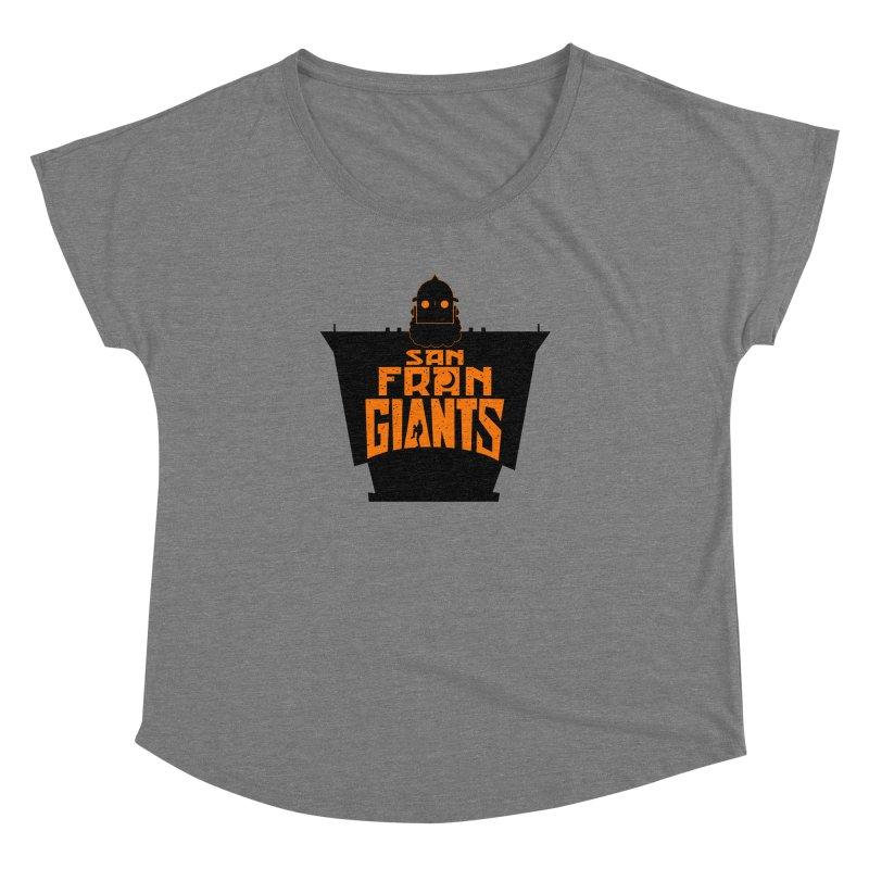 San Fran Iron Giants Women's Dolman by Mike Hampton's T-Shirt Shop