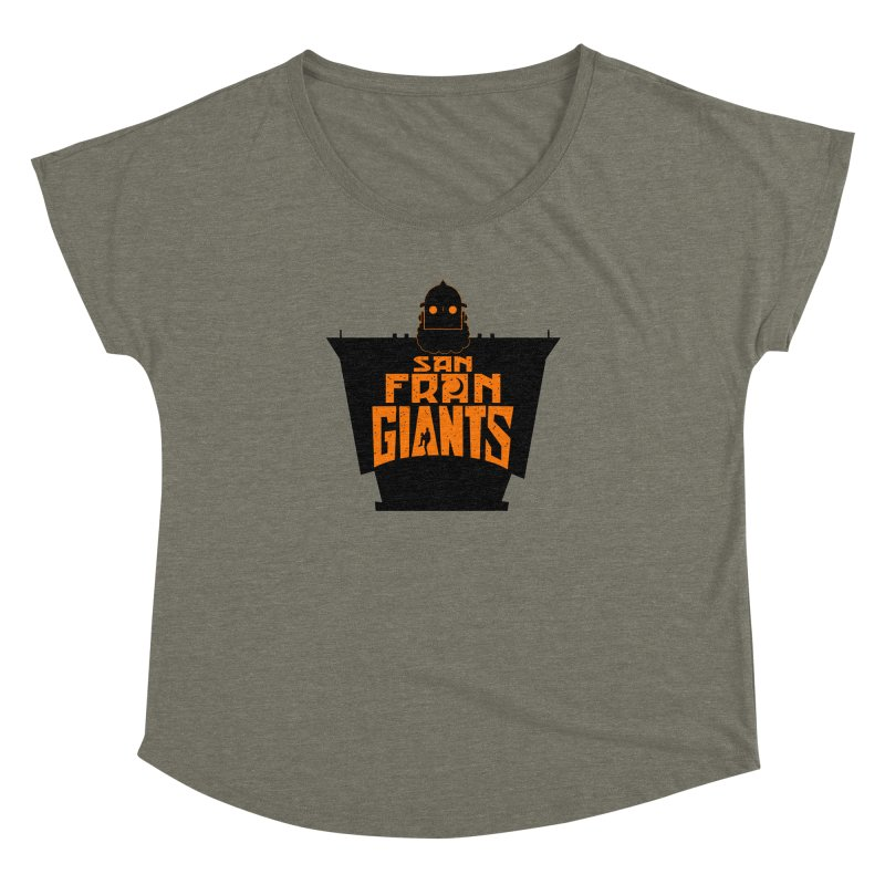 San Fran Iron Giants Women's Dolman by Mike Hampton's T-Shirt Shop