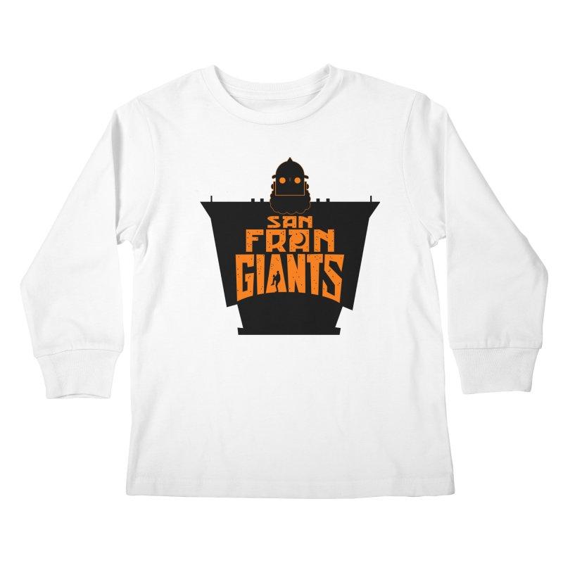 San Fran Iron Giants Kids Longsleeve T-Shirt by Mike Hampton's T-Shirt Shop