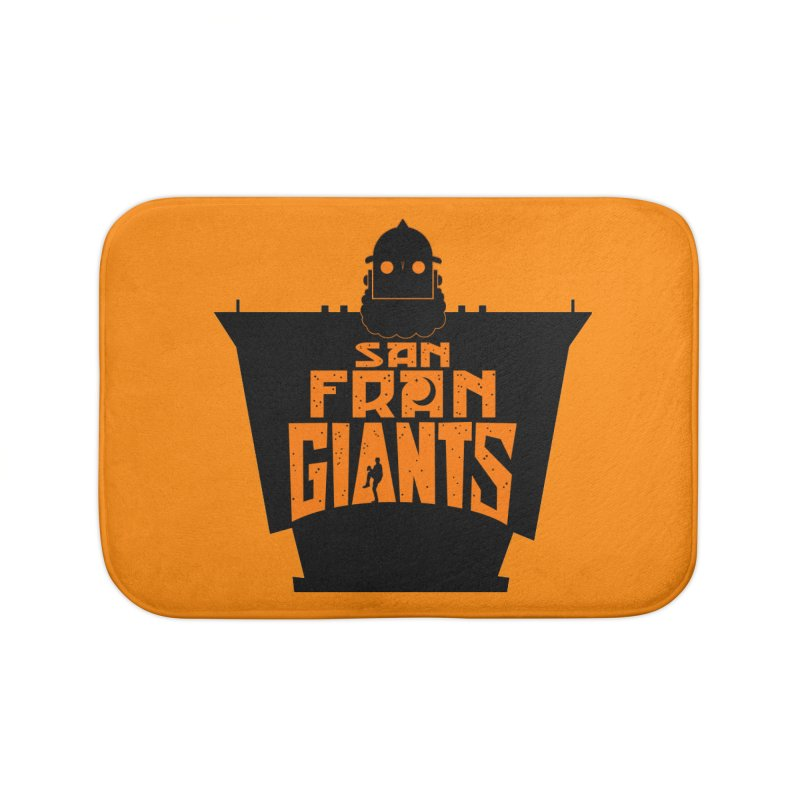 San Fran Iron Giants Home Bath Mat by Mike Hampton's T-Shirt Shop