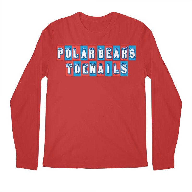 Colder than a... Men's Longsleeve T-Shirt by Mike Hampton's T-Shirt Shop