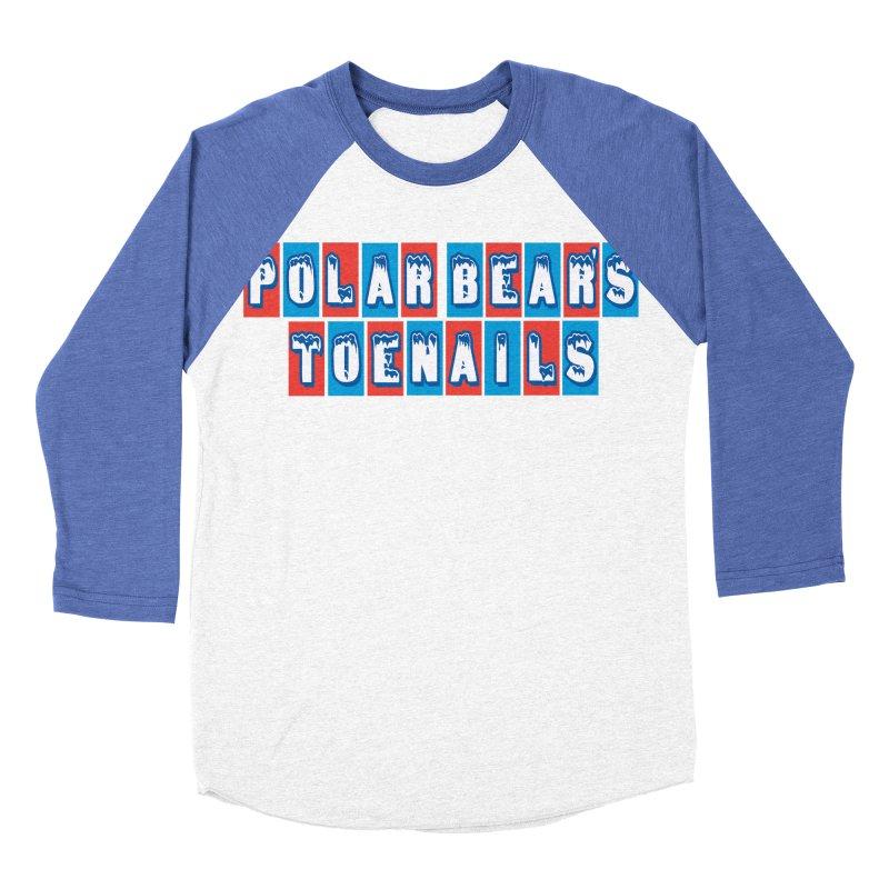 Colder than a... Men's Baseball Triblend T-Shirt by Mike Hampton's T-Shirt Shop