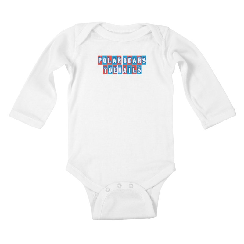 Colder than a... Kids Baby Longsleeve Bodysuit by Mike Hampton's T-Shirt Shop