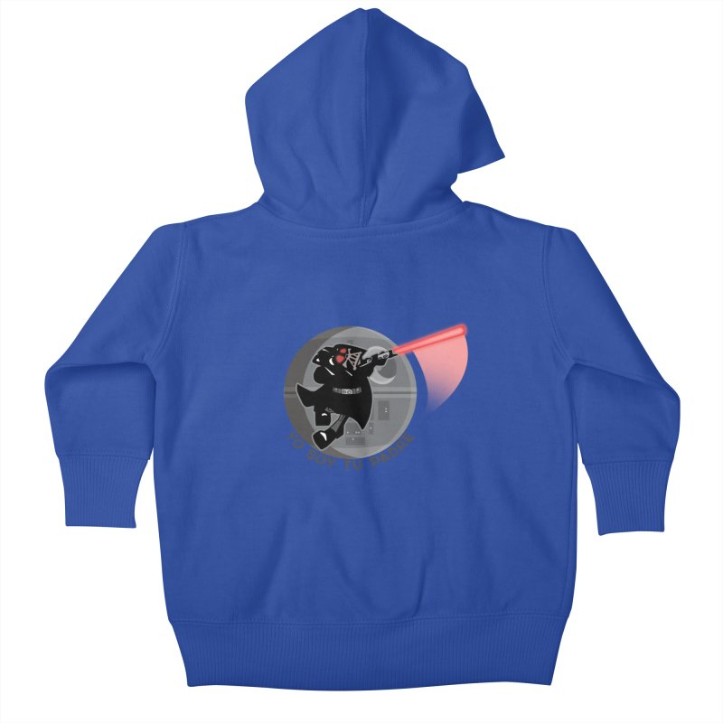 [I Am Your Father] Kids Baby Zip-Up Hoody by Mike Hampton's T-Shirt Shop