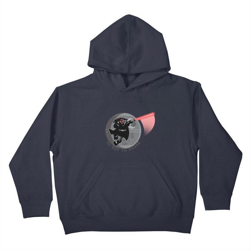 [I Am Your Father] Kids Pullover Hoody by Mike Hampton's T-Shirt Shop