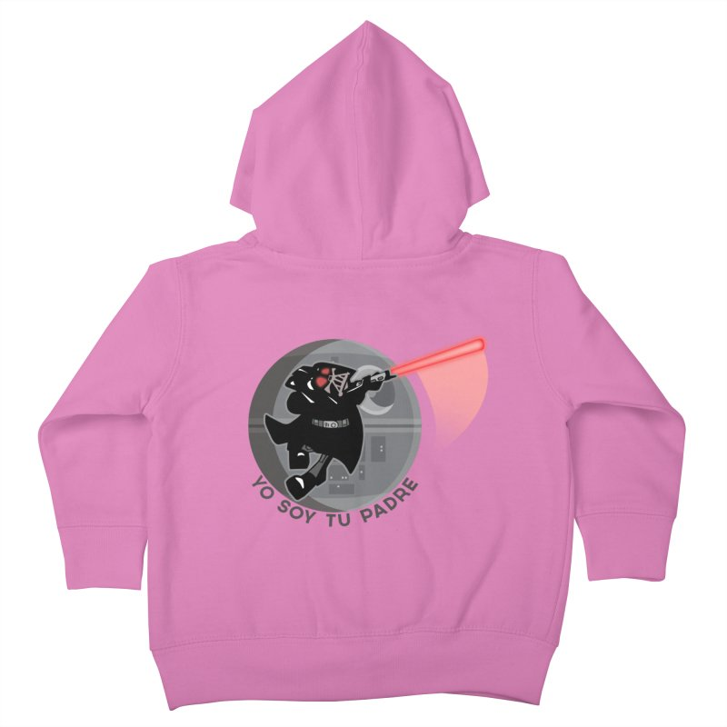 [I Am Your Father] Kids Toddler Zip-Up Hoody by Mike Hampton's T-Shirt Shop