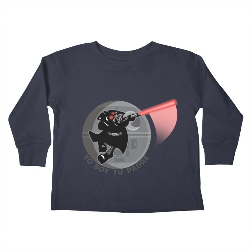 [I Am Your Father] Kids Toddler Longsleeve T-Shirt by Mike Hampton's T-Shirt Shop