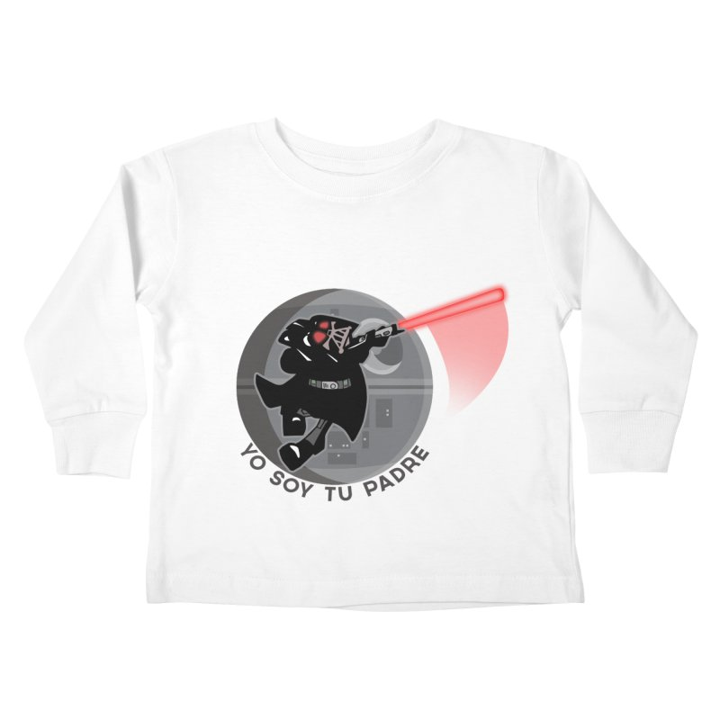 [I Am Your Father] Kids Toddler Longsleeve T-Shirt by Mike Hampton's T-Shirt Shop