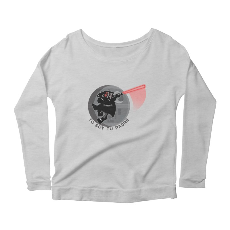 [I Am Your Father] Women's Longsleeve Scoopneck  by Mike Hampton's T-Shirt Shop