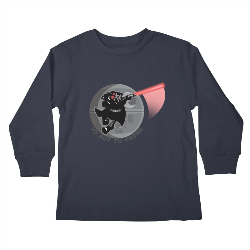 [I Am Your Father] Kids Longsleeve T-Shirt by Mike Hampton's T-Shirt Shop