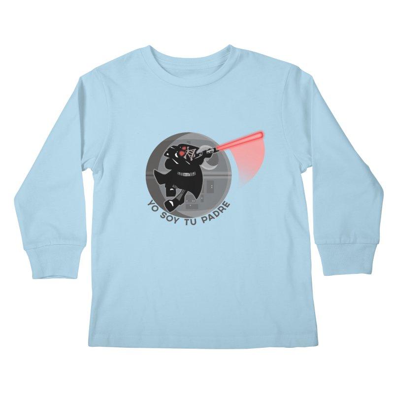 [I Am Your Father] Kids Longsleeve T-Shirt by Mike Hampton's T-Shirt Shop