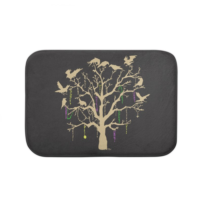 The Birds and the Beads Home Bath Mat by Mike Hampton's T-Shirt Shop