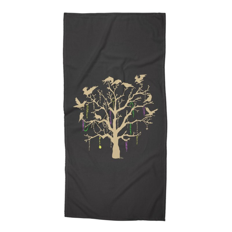 The Birds and the Beads Accessories Beach Towel by Mike Hampton's T-Shirt Shop