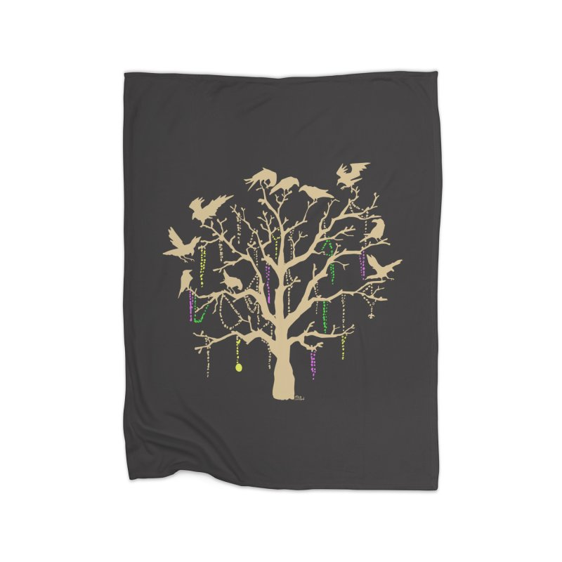 The Birds and the Beads Home Blanket by Mike Hampton's T-Shirt Shop