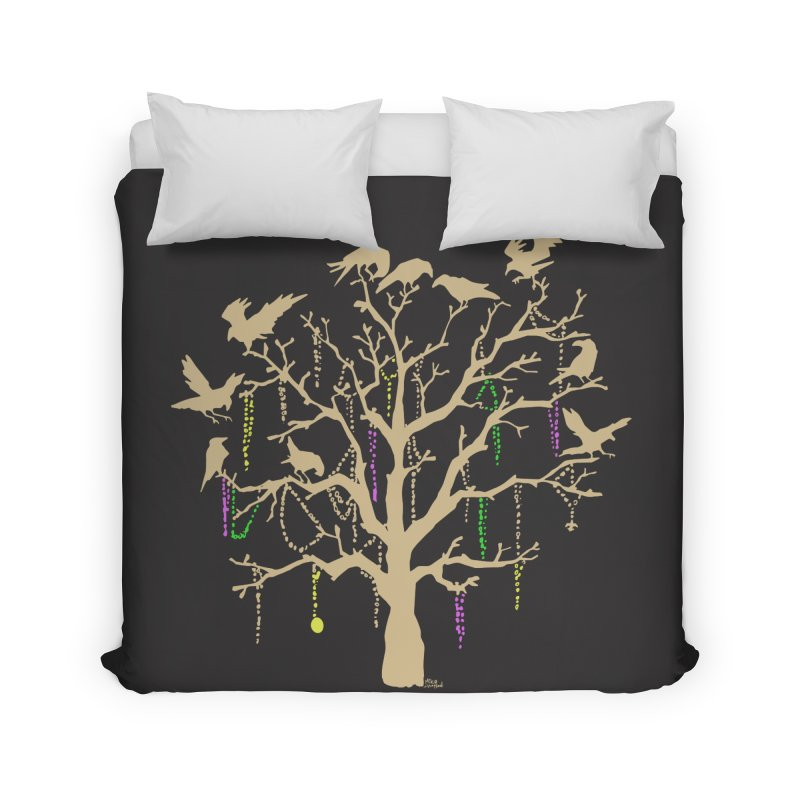 The Birds and the Beads Home Duvet by Mike Hampton's T-Shirt Shop