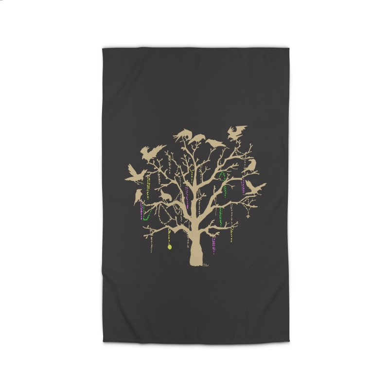 The Birds and the Beads Home Rug by Mike Hampton's T-Shirt Shop