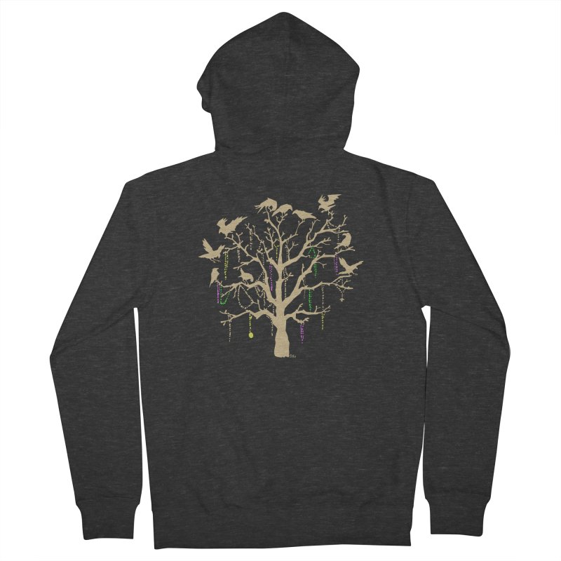 The Birds and the Beads Men's Zip-Up Hoody by Mike Hampton's T-Shirt Shop