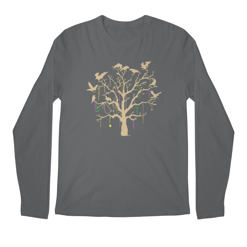 The Birds and the Beads Men's Longsleeve T-Shirt by Mike Hampton's T-Shirt Shop