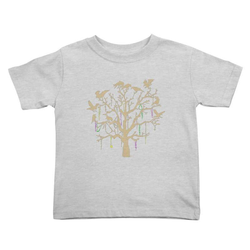 The Birds and the Beads Kids Toddler T-Shirt by Mike Hampton's T-Shirt Shop