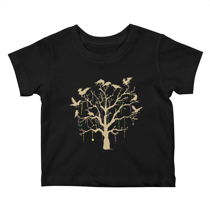 The Birds and the Beads Kids Baby T-Shirt by Mike Hampton's T-Shirt Shop