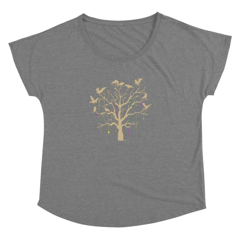 The Birds and the Beads Women's Dolman by Mike Hampton's T-Shirt Shop