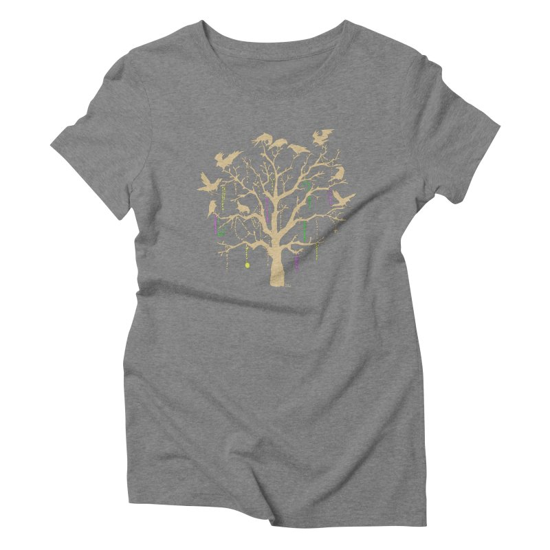 The Birds and the Beads Women's Triblend T-Shirt by Mike Hampton's T-Shirt Shop