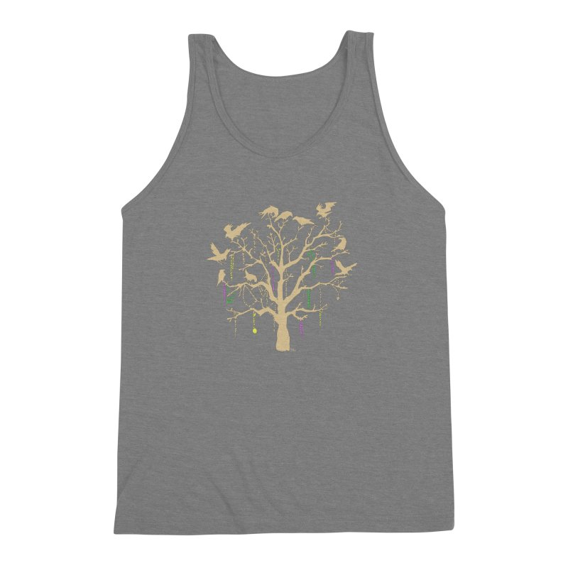 The Birds and the Beads Men's Triblend Tank by Mike Hampton's T-Shirt Shop
