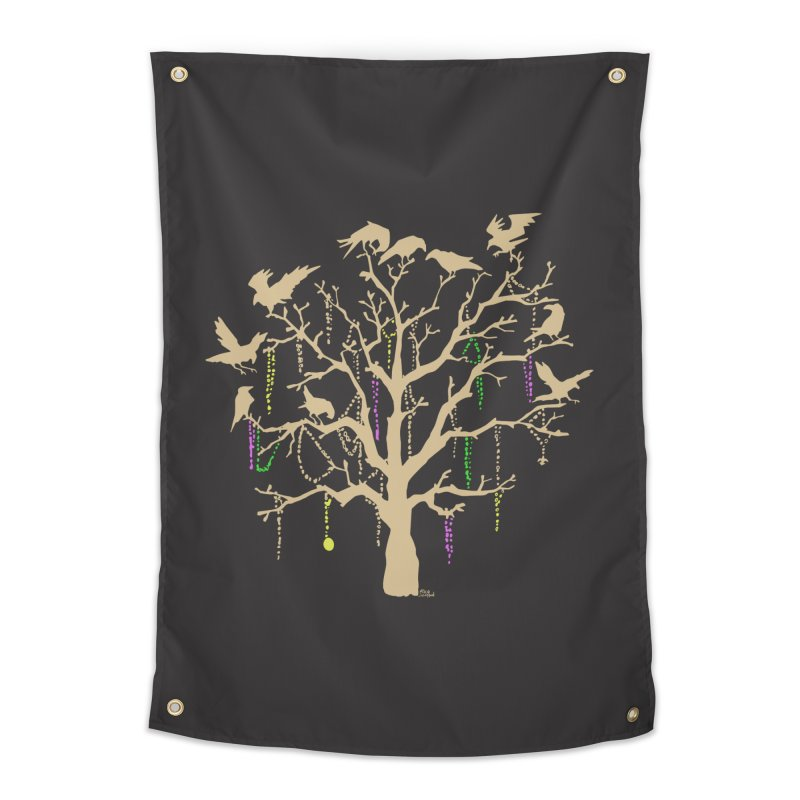 The Birds and the Beads Home Tapestry by Mike Hampton's T-Shirt Shop