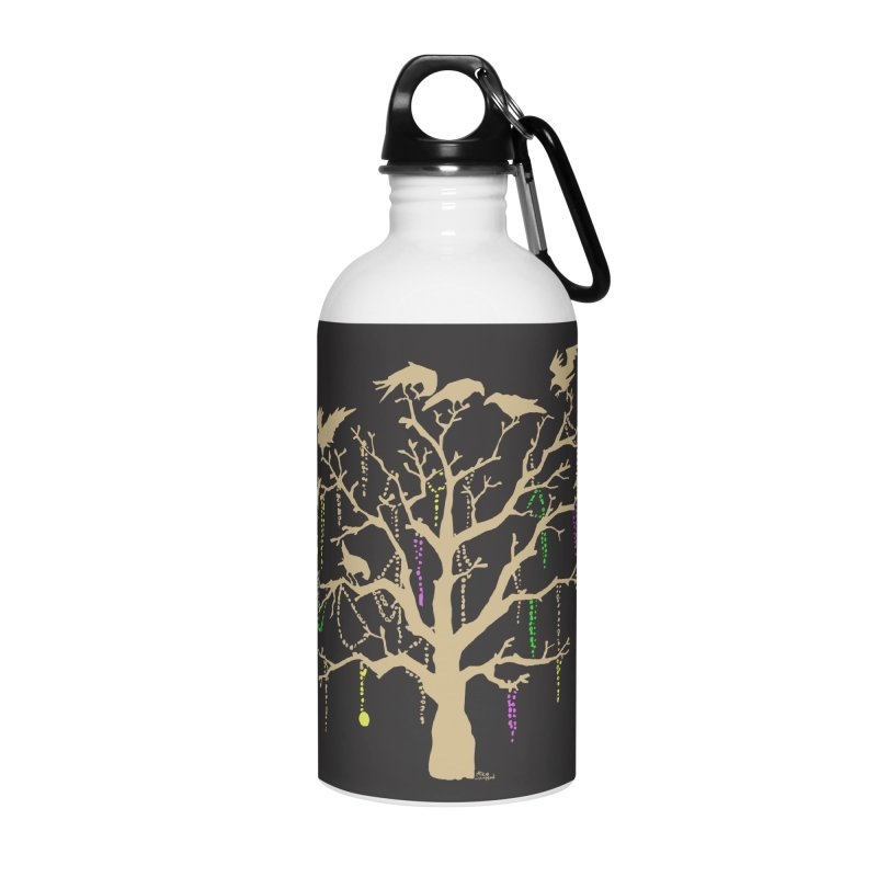 The Birds and the Beads Accessories Water Bottle by Mike Hampton's T-Shirt Shop