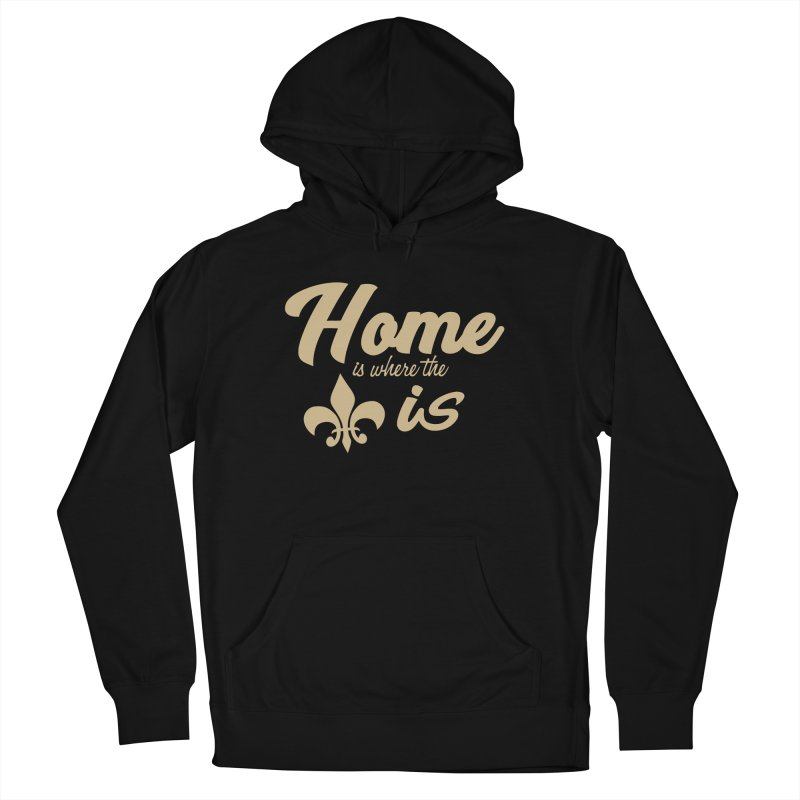 New Orleans Men's Pullover Hoody by Mike Hampton's T-Shirt Shop