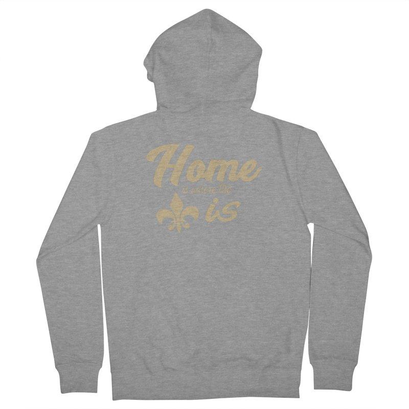 New Orleans Women's Zip-Up Hoody by Mike Hampton's T-Shirt Shop