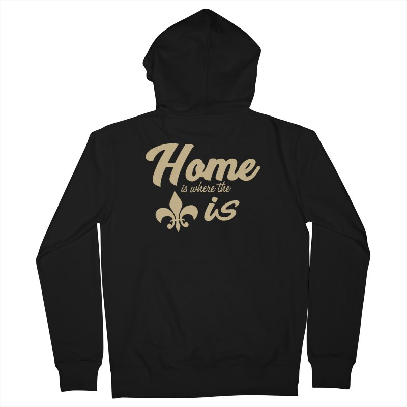 New Orleans Women's Zip-Up Hoody by Mike Hampton's T-Shirt Shop