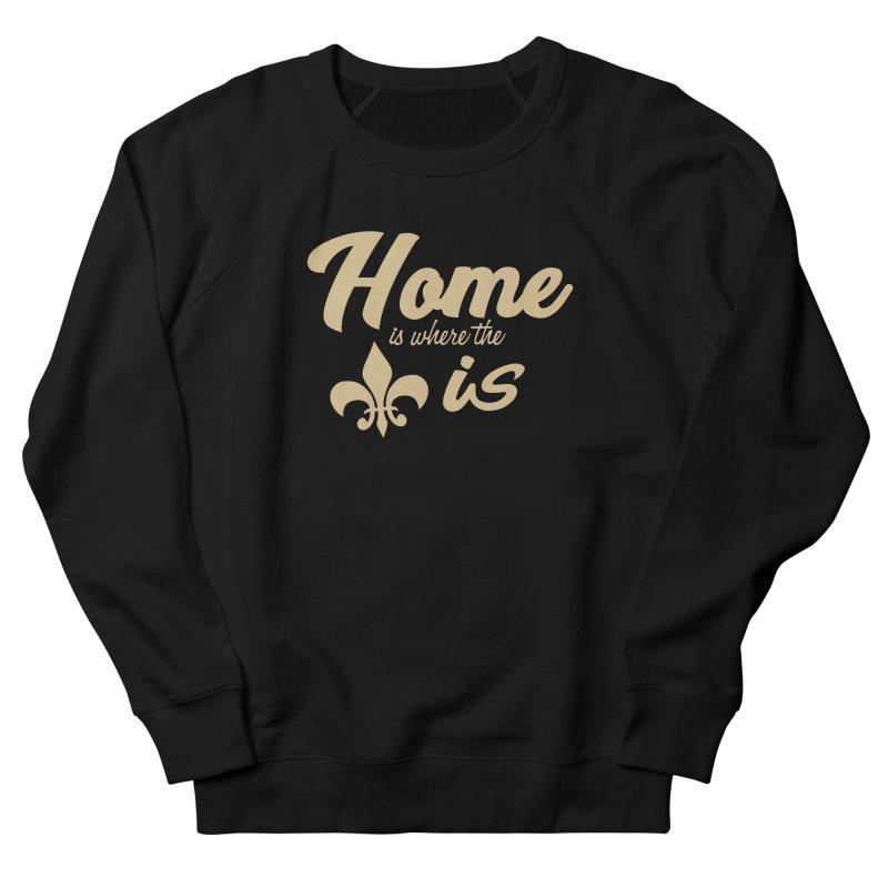 New Orleans Women's Sweatshirt by Mike Hampton's T-Shirt Shop