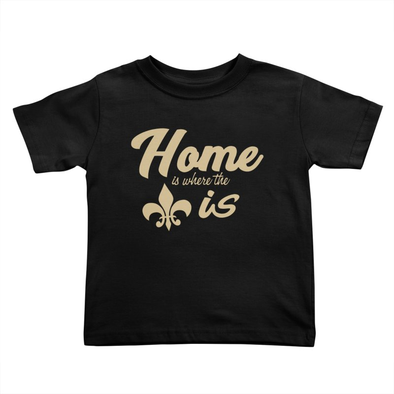 New Orleans Kids Toddler T-Shirt by Mike Hampton's T-Shirt Shop